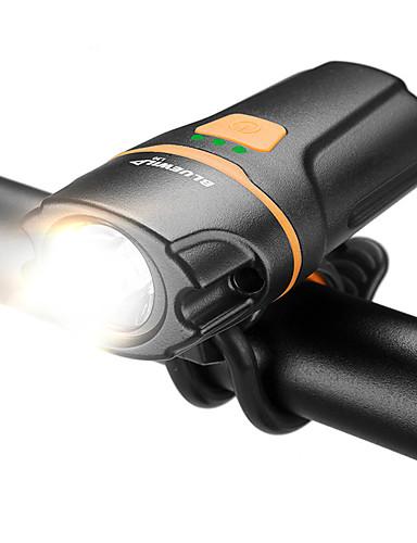povoljno Biciklizam-LED Svjetla za bicikle LED svjetiljke Prednje svjetlo za bicikl Svjetlo za bicikle Bicikl Biciklizam Vodootporno Super Bright Quick Release Li-ion 1000 lm Ugrađeno Li-baterije USB Bijela Kampiranje