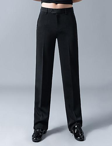 levne Shall We®-Latinské tance Spodní část oděvu Pánské Trénink / Výkon Bavlna / POLY Sklady Vysoký Kalhoty