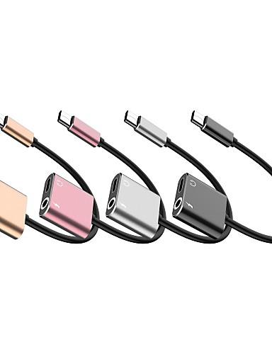1 עד 2 סוג-c כדי 3.5mm מתאם אודיו מתאם כבל עבור סמסונג huawei xiaomi Sony lenove htc נוקיה מוטורולה lg וכו '