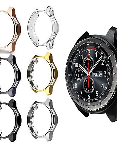 s3 הילוכים Samsung גלקסי לצפות 46mm 42mm מקרה reloj tpu מצופה כל פגז סביב