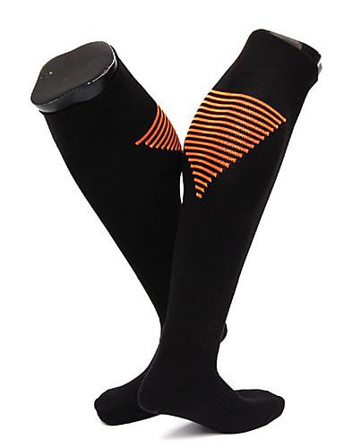 ราคาถูก Sport Socks-ถุงเท้าสำหรับวิ่ง ถุงเท้าฟุตบอล Hiking Socks ถุงเท้าการบีบอัด ถุงเท้ายาว 1 คู่ Warm แห้งเร็ว ลดการถลอก สบาย สลับ ไนลอน สำหรับ สำหรับผู้ชาย สำหรับผู้หญิง แคมป์ปิ้ง / การปีนเขา / เที่ยวถ้ำ การเดินทาง