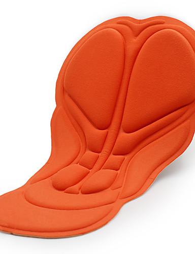 preiswerte Radsport Hosen,Kurze Hosen,Stumpfhosen-WOSAWE Herrn Damen Radhose Unterlage Fahhrad Pad 3D Pad Sport Volltonfarbe Orange Bergradfahren Straßenradfahren Bekleidung Fahrradbekleidung / Mikro-elastisch