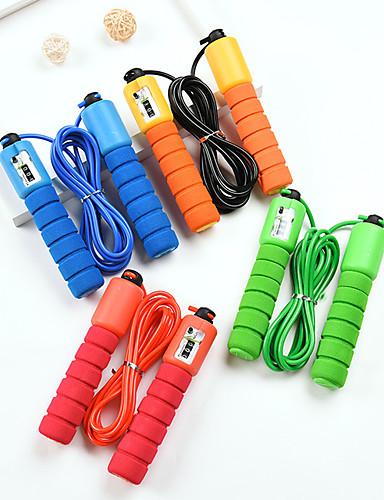 povoljno Vježbanje, fitness i joga-Jump Rope / Preskakanje užeta Plastika PVC Skakanje Pomoć za izgubiti težinu Izdržljivost Sposobnost Za Uniseks