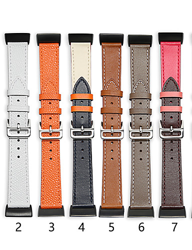 [$26 99] Watch Band for Fitbit Charge 3 Fitbit Classic Buckle Genuine  Leather Wrist Strap
