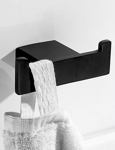 preiswerte Accessoires für das Bad-Kleiderhaken Neues Design / Kreativ Moderne / Traditionell Edelstahl / Metal 1pc - Bad Wandmontage