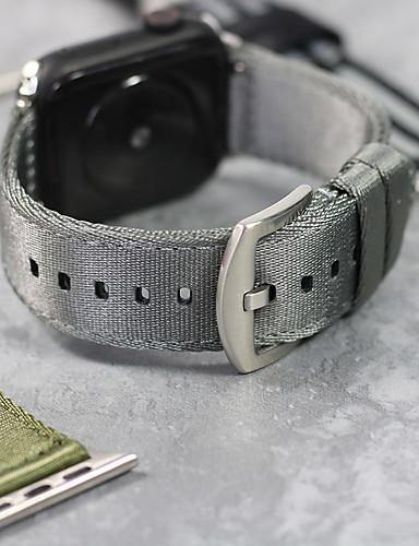 צפו בנד ל Apple Watch Series 4/3/2/1 Apple אבזם קלאסי ניילון רצועת יד לספורט