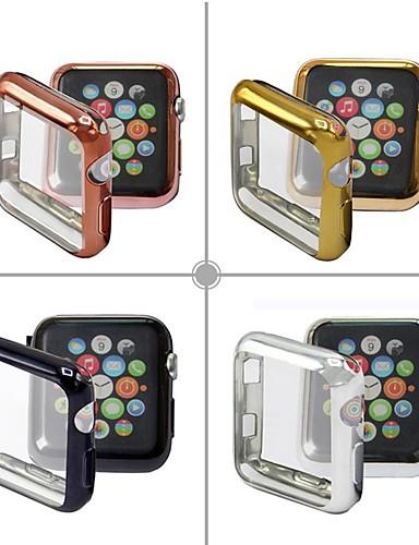 tilfeller for Apple Watch serien 4/3/2/1 tpu kompatibilitet eple