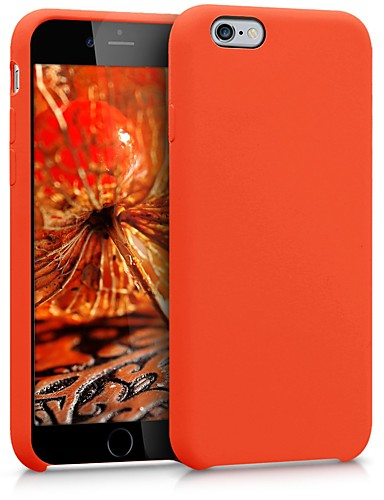 tok Για Apple iPhone 6s / iPhone 6 Ανθεκτική σε πτώσεις / Προστασία από τη σκόνη Πίσω Κάλυμμα Μονόχρωμο Μαλακή TPU