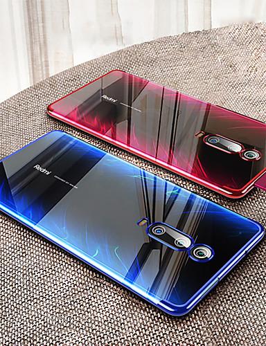 εξαιρετικά λεπτή διαφανής θήκη για κινητά τηλέφωνα xiaomi mi 9t / mi 9t pro / mi max 3 / mi mix 3 / mi mix 2 / mi a2 lite / mi a2 / mi a1 επιμετάλλωση soft tpu σιλικόνης πλήρες κάλυμμα shockproof