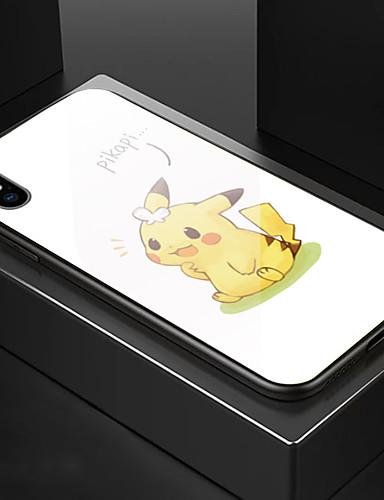 tilfelle for eple iphone 6 / iphone xs maks mønster full kroppssaker tegneserie hardt temperert glass for iphone 6 / iphone 6 pluss / iphone 6s