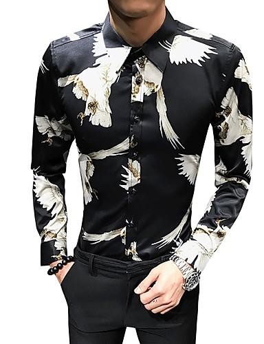 Skjorte Herre - Dyr Grunnleggende Svart