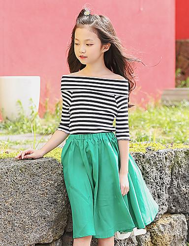 Dongguan pby_040s Girls Fashion Stripe Shoulder Princess Skirt Dress Yellow_120cm