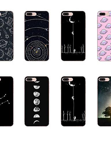 Etui Til Apple iPhone XR / iPhone X / iPhone 8 Plus Mønster Bakdeksel Geometrisk mønster Myk TPU