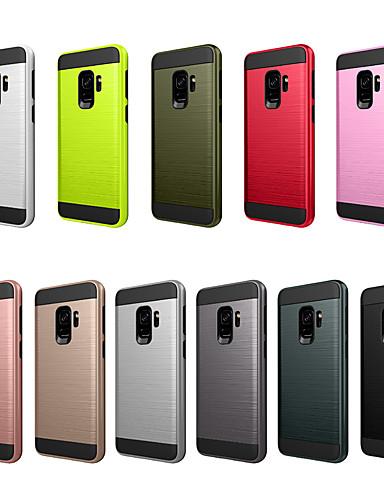 Capinha Para Samsung Galaxy S9 Anti-poeira / Áspero Capa traseira Sólido PC