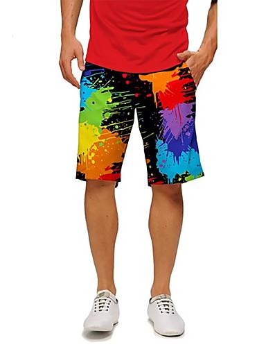 voordelige Herenmode-Heren Marineblauw Slips, shorts en broeken Zwemkleding - Effen L XL XXL Marineblauw