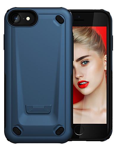 Capinha Para Apple iPhone 8 / iPhone 7 Antichoque Capa traseira Armadura PC