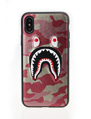 Capinha Para Apple iPhone XS / iPhone XR / iPhone XS Max Estampada Capa traseira Animal TPU