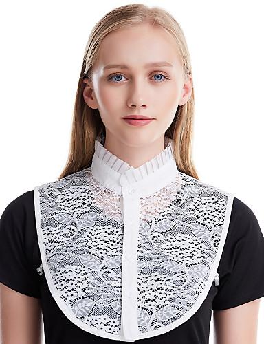 billige Dametopper-Dame Kontor / Grunnleggende Uendelighetshalstørklæ Ensfarget