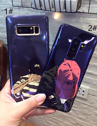 Etui Til Samsung Galaxy S9 / S9 Plus / S8 Plus IMD / Mønster Bakdeksel Tegneserie Myk TPU