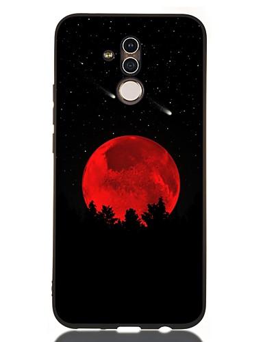 Capinha Para Huawei Huawei Honor 10 / Honra 10 Lite / Huawei Honor 9 Lite Antichoque / Áspero / Estampada Capa traseira Cenário TPU