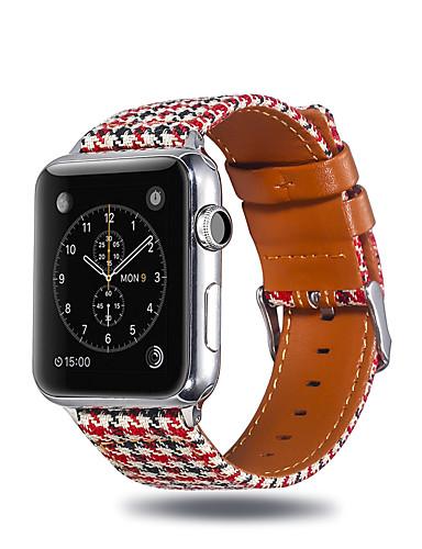 Pulseiras de Relógio para Apple Watch Series 5/4/3/2/1 Apple Fecho Clássico Tecido Tira de Pulso