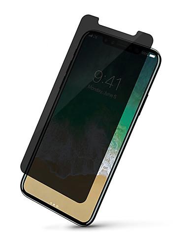 Προστατευτικό οθόνης για Apple iphone x / iphone xs / iphone xr γυαλισμένο γυαλί 1 τεμάχιο μπροστινό προστατευτικό οθόνης 9h σκληρότητα / 2.5d καμπύλη άκρη / ιδιωτικότητα anti-spy