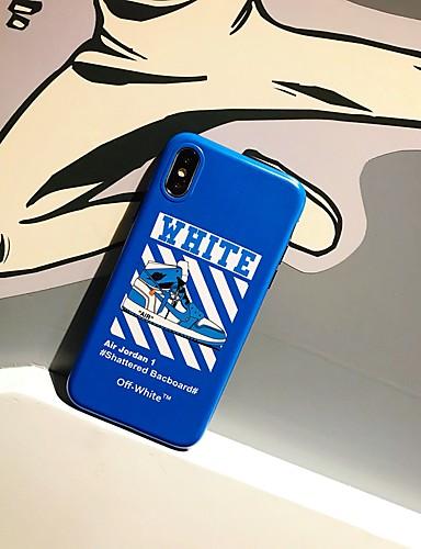 Capinha Para Apple iPhone XS / iPhone XR / iPhone XS Max Antichoque / Estampada Capa traseira Desenho Animado TPU