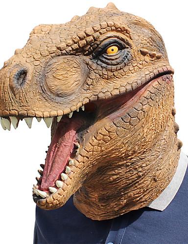 povoljno Maske i kostimi-Rekviziti za Noć vještica Maska za maskiranje Inspirirana Power Rangers Braon Cosplay Halloween Halloween Karneval Maškare Odrasli Muškarci Žene