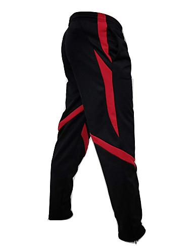 Ανδρικά Αθλητικό Λεπτό Αθλητικές Φόρμες Παντελόνι - Μονόχρωμο Μαύρο & Κόκκινο, Patchwork Μαύρο Ρουμπίνι Κίτρινο US32 / UK32 / EU40 US34 / UK34 / EU42 US36 / UK36 / EU44 / Ελαστικότητα