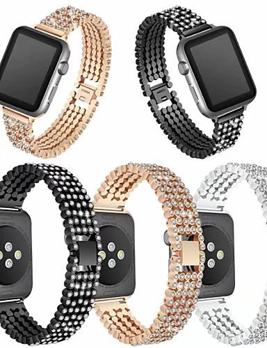 Klokkerem til Apple Watch Series 5/4/3/2/1 Apple Smykkedesign Rustfritt stål Håndleddsrem