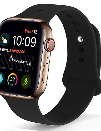 watch band for Apple Watch Series 4/3/2/1 Apple Sport Band Silikon Armbånd