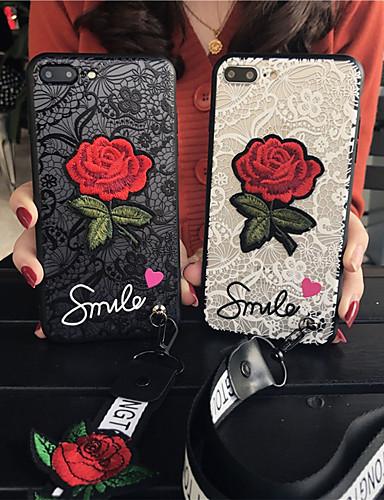 Etui Til Apple iPhone XR / iPhone XS Max Mønster Bakdeksel Blomsternål i krystall Myk PC