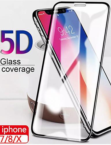 15d vidro temperado protetor no para iphone 7 8 6 6 s além de x protetor de tela de vidro borda macia iphone x xs proteção de tela