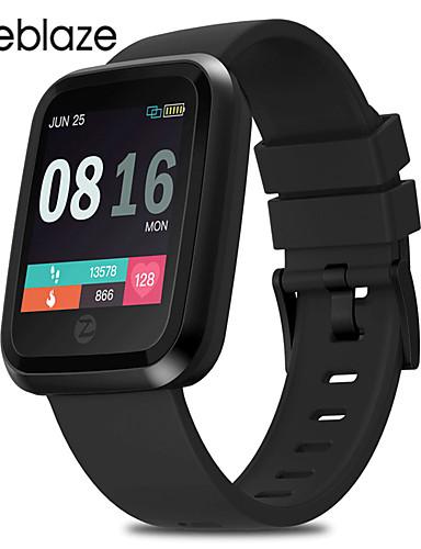 Relógio inteligente Digital Estilo Moderno Esportivo Silicone 30 m Impermeável Monitor de Batimento Cardíaco Bluetooth Digital Casual Ao ar Livre - Preto Vermelho Azul