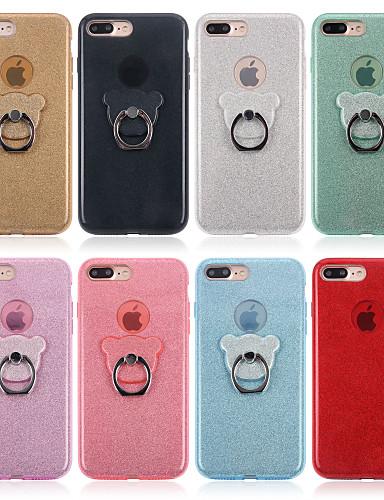 Etui Til Apple iPhone XS / iPhone XR / iPhone XS Max med stativ Bakdeksel Ensfarget Myk TPU