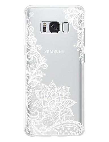 tok Για Samsung Galaxy J7 (2017) / J7 / J5 (2017) Ανθεκτική σε πτώσεις / Προστασία από τη σκόνη Πίσω Κάλυμμα Λουλούδι Μαλακή TPU