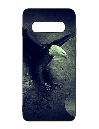 Capinha Para Samsung Galaxy S9 / S9 Plus / S8 Plus Antichoque / Áspero / Estampada Capa traseira Animal TPU
