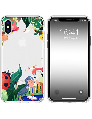 περίπτωση για iphone x xs max xr xs πίσω περίπτωση μαλακό κάλυμμα tpu όλα μεγαλώνει μαλακό tpu για iphone5 5s 6 6p 6s sp 7 7p 8 8p16 * 8 * 1