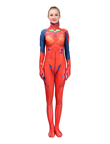 povoljno Anime cosplay-Inspirirana NeonGenesis Evangelion Asuka Anime Cosplay nošnje Japanski Cosplay Suits Za Žene