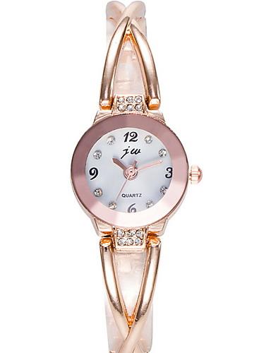 Mulheres Relógio Elegante Quartzo Relógio Casual Analógico Clássico - Preto Prata Rosa claro