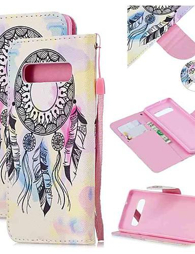 Capinha Para Samsung Galaxy S9 / S9 Plus / S8 Plus Carteira / Porta-Cartão / Antichoque Capa Proteção Completa Desenho Animado PU Leather