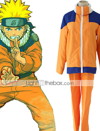 cheap Anime Costumes-Inspired by Naruto Hatake Kakashi Naruto Uzumaki Anime Cosplay Costumes Japanese Cosplay Suits Costume For Boys' Girls'