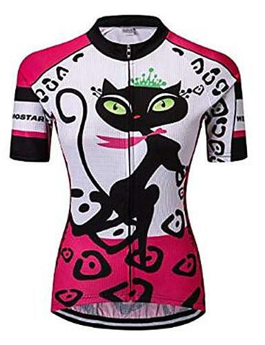 CHEJI Graffiti Women/'s Large Cycling Jersey Shirt Women/'s Mountain Bike Jersey