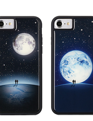 tok Για Apple iPhone XS / iPhone XR / iPhone XS Max Λάμπει στο σκοτάδι / Ανθεκτική σε πτώσεις Πίσω Κάλυμμα Γεωμετρικά σχήματα Μαλακή TPU / PC