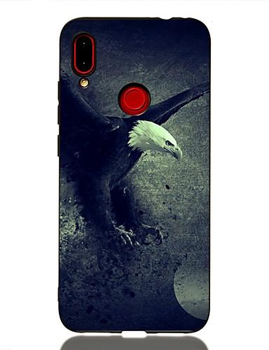 Capinha Para Xiaomi Xiaomi Redmi Note 6 / Xiaomi Pocophone F1 / Xiaomi Redmi 6 Pro Antichoque / Áspero / Estampada Capa traseira Animal TPU