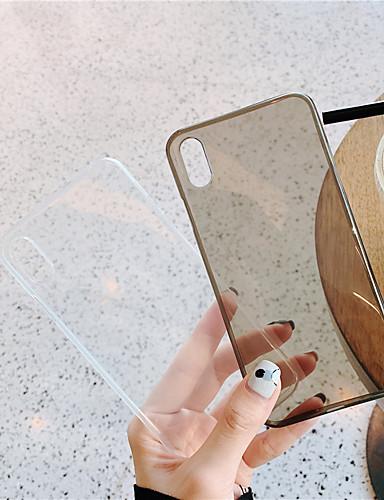 caso da apple para apple iphone x / iphone xs max tampa traseira ultra-fino sólido colorido macio tpu para iphone7 / 8 plus iphonex / xs max / xr