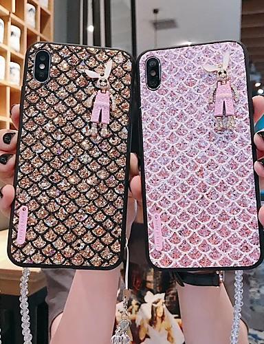 Capinha Para Xiaomi Xiaomi Redmi Note 6 / Xiaomi Pocophone F1 / Xiaomi Redmi Note 7 Glitter Brilhante Capa traseira Glitter Brilhante TPU