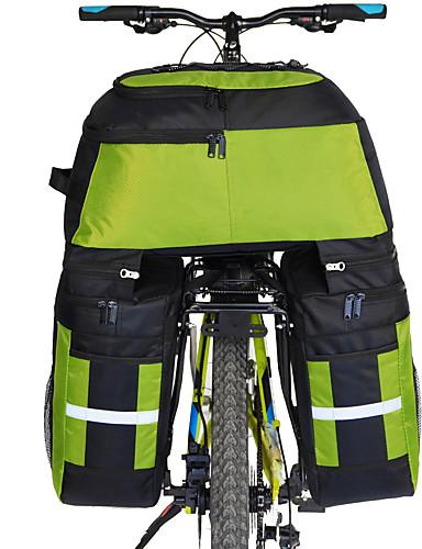 povoljno Biciklizam-FJQXZ 70 L Panniers & Rack Trunk Bike Trunk Bags 3 u 1 Velika zapremnina Vodootporno Torba za bicikl 1680D poliester Torba za bicikl Torbe za biciklizam Biciklizam / Bicikl
