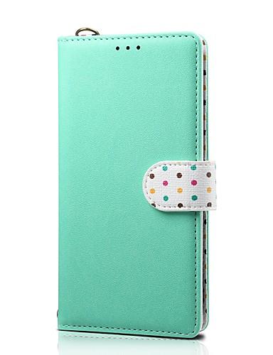 Capinha Para Apple iPhone XS / iPhone XR / iPhone XS Max Carteira / Porta-Cartão / Com Suporte Capa Proteção Completa Sólido couro legítimo