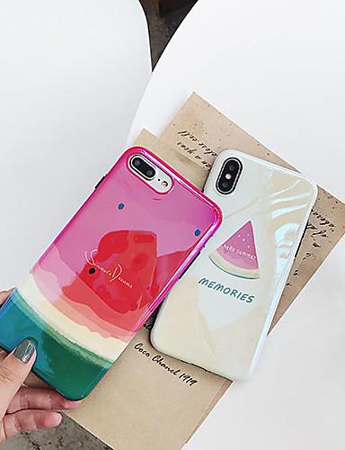 Capinha Para Apple iPhone XS / iPhone XR / iPhone XS Max Ultra-Fina / Estampada Capa traseira Comida TPU